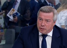 Interview with Governor of Rostov Region Vasily Golubev for RUSSIA.24
