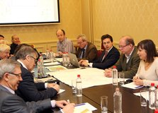 Working session in Moscow